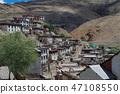 Tibetan temple Spiti valley 47108550