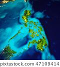 Philippines islands map 47109414