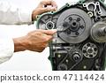 대형 오토바이 엔진 정비 47114424