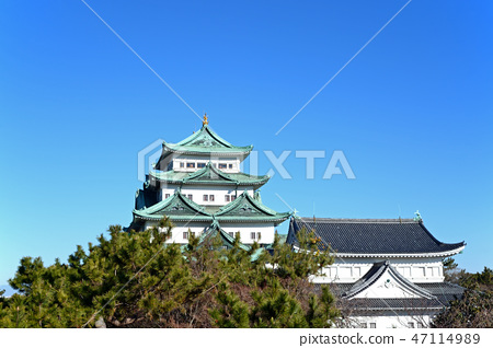 從名古屋城堡Tenshukaku Seinan Sumi的看法 47114989