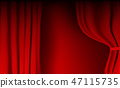 background, red, vector 47115735