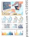 infographic, chart, vector 47116565