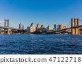 Brooklyn Bridge  Manhattan Landmarks New York City USA 47122718