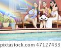 女性度假旅行 47127433