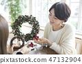 크리스마스리스 47132904