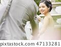 커플 결혼 신부 47133281