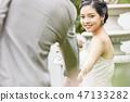 커플 결혼 신부 47133282