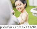 커플 결혼 신부 47133284