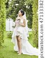 여성 인물 결혼 신부 47133382