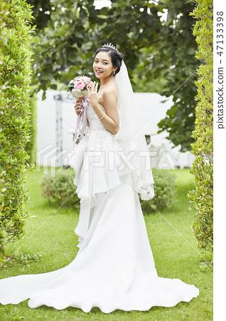 여성 인물 결혼 신부 47133398