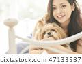 女人寵物的生活方 47133587