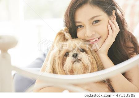 女人寵物的生活方 47133588