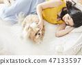女人寵物的生活方 47133597
