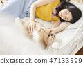 女人寵物的生活方 47133599