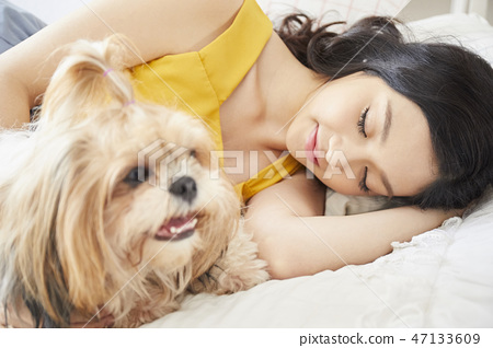 女人寵物的生活方 47133609