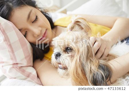 女人寵物的生活方 47133612