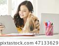 女人寵物生活方式業務 47133629