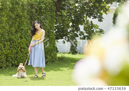 女人寵物的生活方 47133639