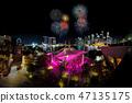 panorama Fireworks displays along the Singapore 47135175