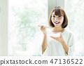 女人美酸奶生活方式 47136522