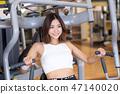 年轻妇女,健身房,饮食,健身房,健身 47140020