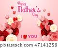 母親 問候 花朵 47141259