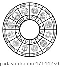 Star signs astrology horoscope zodiac symbols set 47144250