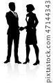 People Business Silhouette 47144343