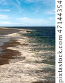 Red Sea Egypt - Waves on the coral reef 47144354