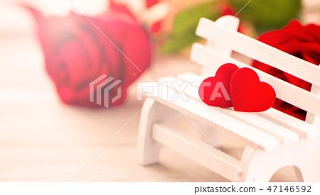 戀人節,婚禮當天,風景秀麗,慶祝求愛,情人節婚禮 47146592