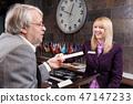 Business traveler 47147233