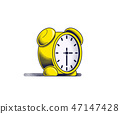 Alarm clock icon 47147428