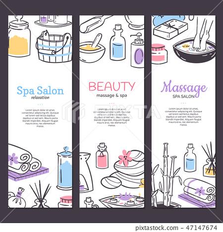 Spa Treatment Banner Background Design For Stock Illustration 47147674 Pixta