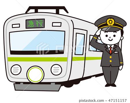 男司機和火車 47151157
