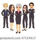 Business Black Suit Team 47154917