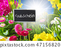 Sunny Spring Flower Meadow, Gutschein Mean Voucher 47156820