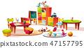 kindergarten, furniture, interior 47157795