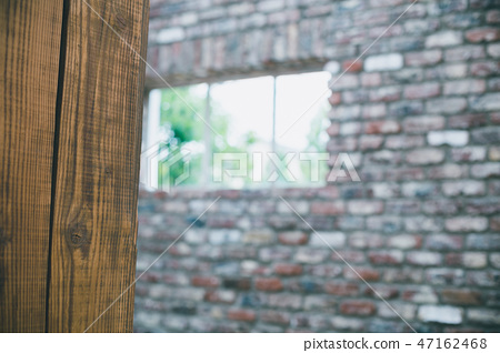 磚砌的 牆壁 牆 47162468