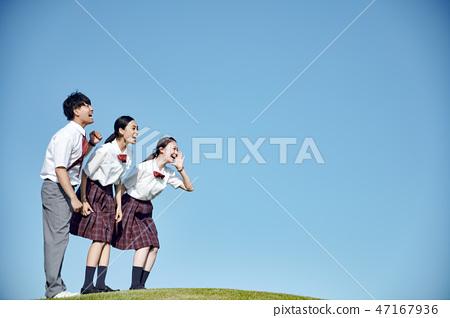 高中生青年 47167936