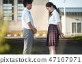 นักเรียนมัธยมปลายชายและหญิงสารภาพ 47167971