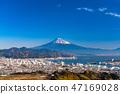 """""""靜岡縣""""富士山/清水港的景色""""來自Nipponaira"""" 47169028"""