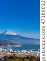 """""""靜岡縣""""富士山/清水港的景色""""來自Nipponaira"""" 47169032"""