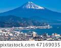 """""""靜岡縣""""富士山/清水港的景色""""來自Nipponaira"""" 47169035"""