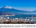 """""""靜岡縣""""富士山/清水港的景色""""來自Nipponaira"""" 47169036"""