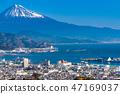 """""""靜岡縣""""富士山/清水港的景色""""來自Nipponaira"""" 47169037"""