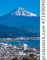 """""""靜岡縣""""富士山/清水港的景色""""來自Nipponaira"""" 47169040"""