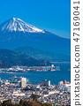 """""""靜岡縣""""富士山/清水港的景色""""來自Nipponaira"""" 47169041"""