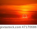 solar eclipses occur in the sky while sunset times 47170686