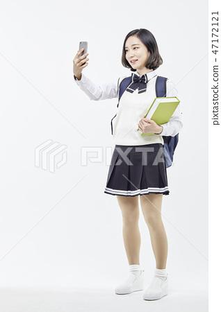 중학생,고등학생,학생,교육 47172121