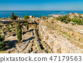Ruins of Byblos in Lebanon, a UNESCO World Heritage Site 47179563